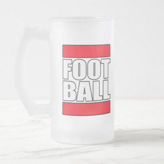 Camiseta para hombre de la camiseta del fútbol del taza de cristal