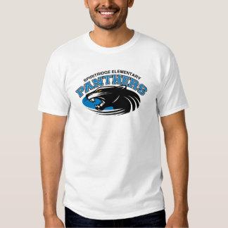 Camiseta para hombre de la pantera clásica (blanca playeras