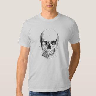 Camiseta para hombre de la plata del diagrama del poleras