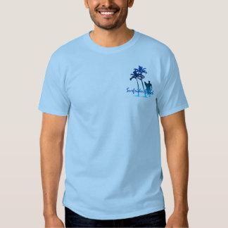 Camiseta para hombre de la playa de Surfrider Polera