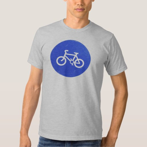 Camiseta para hombre de la señal de tráfico de remera