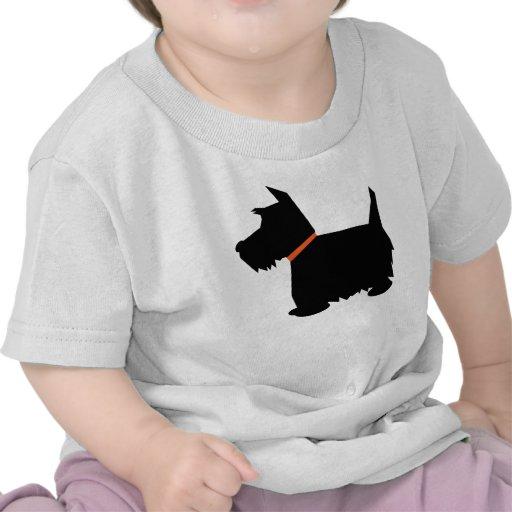 Camiseta para hombre de la silueta del perro de Te