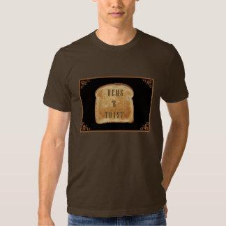 Camiseta para hombre de la tostada de los Dems R Remeras