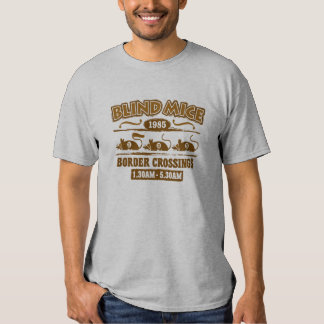 """Camiseta para hombre de los """"ratones ciegos"""" playera"""