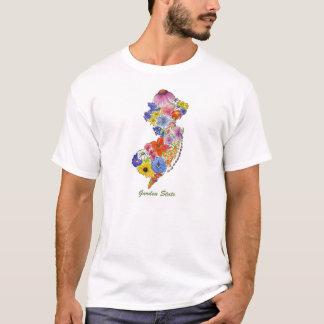Camiseta para hombre de los Wildflowers del mapa