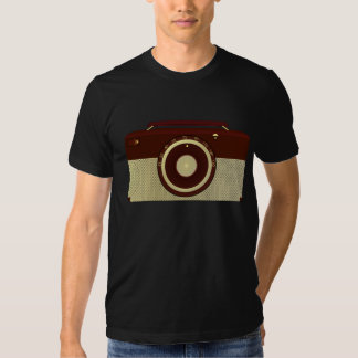 Camiseta para hombre de radio antigua camisas
