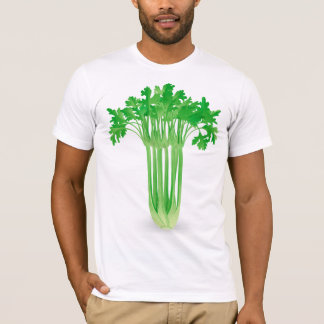 Camiseta para hombre del apio fresco