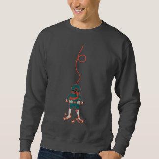 Camiseta para hombre del buceador del mar profundo sudadera con capucha