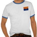 Camiseta para hombre del campanero de la bandera d