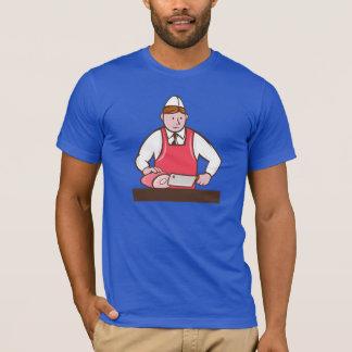 Camiseta para hombre del carnicero