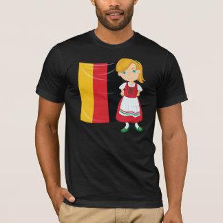 Camiseta para hombre del chica de Oktoberfest