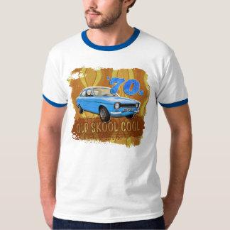 Camiseta para hombre del coche icónico retro de remeras