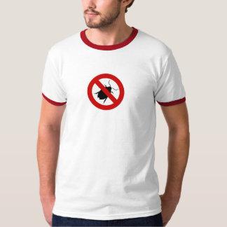 Camiseta para hombre del combatiente del insecto