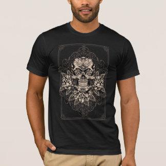 Camiseta para hombre del cráneo del azúcar