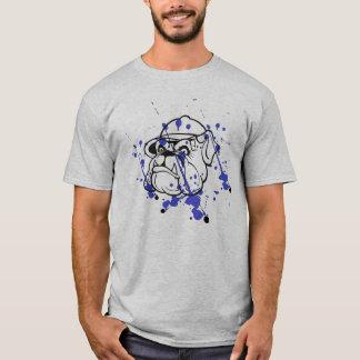 Camiseta para hombre del dogo de Splatted