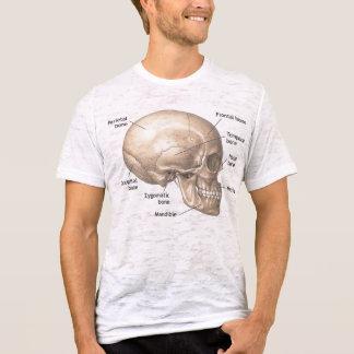 Camiseta para hombre del estilo del vintage de la