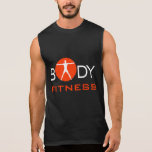 Camiseta para hombre del instructor personal de la playeras sin mangas