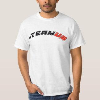 Camiseta para hombre del logotipo del deporte polera
