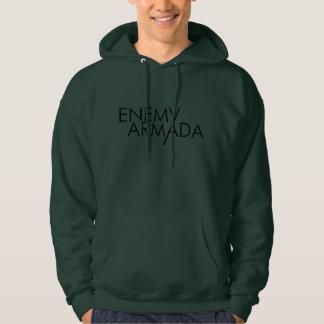 Camiseta para hombre del logotipo enemigo de la