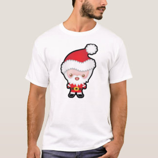 Camiseta para hombre del navidad lindo de Kawaii