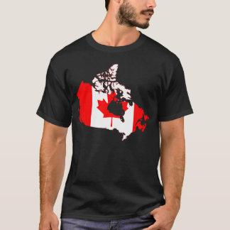 Camiseta para hombre del orgullo canadiense