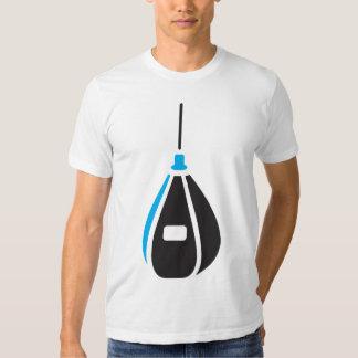 Camiseta para hombre del saco de arena poleras
