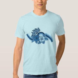 Camiseta para hombre del safari que practica surf camisas