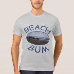 Camiseta para hombre del vago de la playa