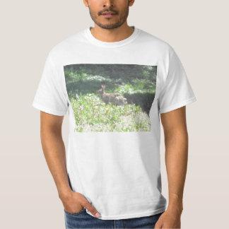 Camiseta para hombre del valor del conejito