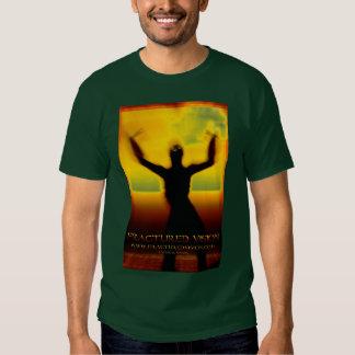 Camiseta para hombre fracturada de Vision Playera