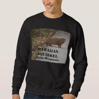 Camiseta para hombre hawaiana de la ardilla