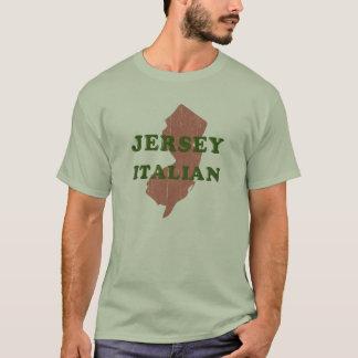 Camiseta para hombre italiana del jersey