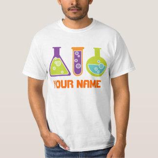Camiseta para hombre personalizada del laboratorio remeras