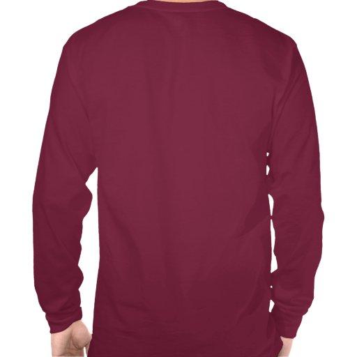 Camiseta para la manga larga de los hombres
