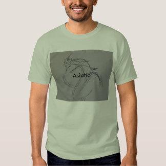 Camiseta para los asiáticos camisas