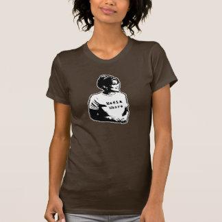 Camiseta para mujer anti divertida de Sarah Palin Polera