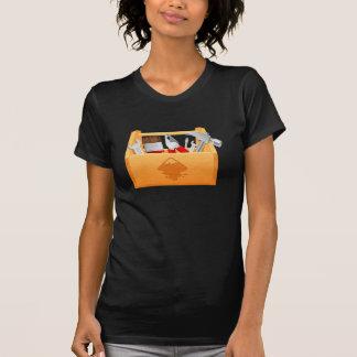 Camiseta para mujer de la caja de herramientas playera