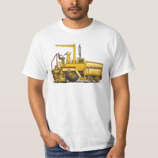 Camiseta para mujer de la máquina de pavimentación