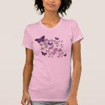 Camiseta para mujer de la mariposa