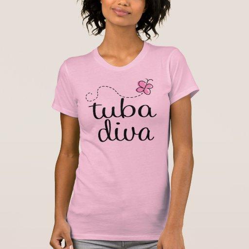 Camiseta para mujer de la música de la diva de la
