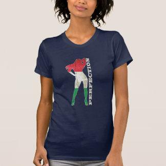 Camiseta para mujer de la perfección de Italia