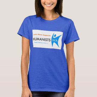 Camiseta para mujer de la sociedad WA del