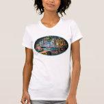Camiseta para mujer de Lite de las carteleras del