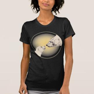 Camiseta para mujer del arte del oso de las