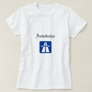 Camiseta para mujer del Autobahn