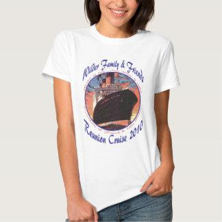 Camiseta para mujer del bebé playera