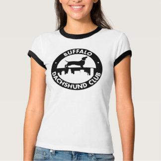 Camiseta para mujer del campanero del club del playera