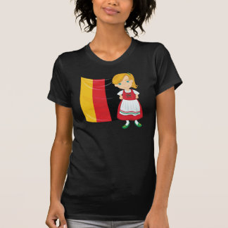 Camiseta para mujer del chica de Oktoberfest