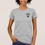 Camiseta para mujer del corazón beta
