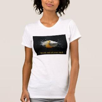Camiseta para mujer del desbloqueo
